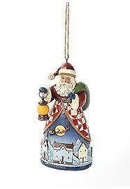 Jim Shore Christmas Ornament Night Village Santa Mint in Box Exclusive | eBay