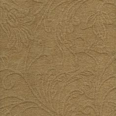 Floral Fabric - Decorating Fabrics -Crinkle Wheat Textured Chenille Upholstery Fabric