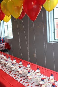fire truck party decorations