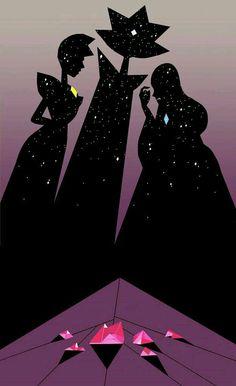 The diamonds Authority steven universe Diamante Rosa Steven Universe, White Diamond Steven Universe, Steven Universe Wallpaper, Steven Universe Comic, Cartoon Network, Vaporwave Anime, Wallpapers Wallpapers, Fanart, Steven Univese