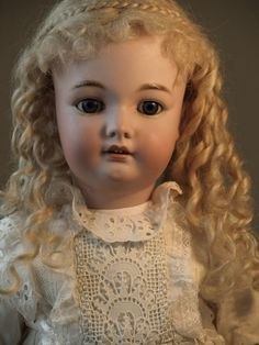 Simon and Halbig Bergmann Antique Doll with A Lovely Dress | eBay