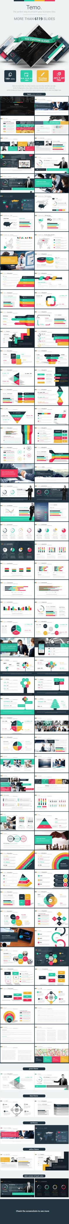 Temo Powerpoint Presentation Template Powerpoint Templates 84