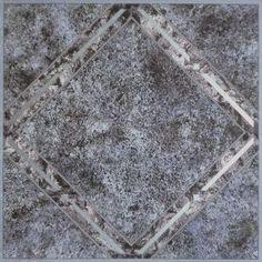 Achim Nexus Metallic Marble Diamond Self Adhesive Vinyl Floor Tile - 20 sq Ft. (Metallic Marble Diamond - Silver, Size 12 x 12 Self Adhesive Vinyl Tiles, Vinyl Tile Flooring, Peel And Stick Vinyl, Patterned Vinyl, Luxury Vinyl Tile, Types Of Flooring, Flooring Ideas, Diamond Pattern, High Gloss