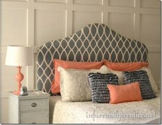 Love the colors... new bedroom?