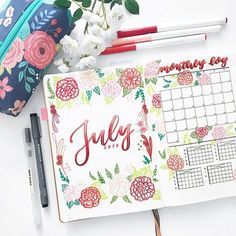 10 Gorgeous Instagram Accounts for Bullet Journals - The Reading Residence