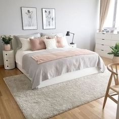 A pink bedroom grey and pink bedroom decor unique best small white bedrooms regarding white and . a pink bedroom Small White Bedrooms, Bedroom Makeover, Home Bedroom, Bedroom Interior, Bedroom Diy, Luxurious Bedrooms, Pink Bedroom Decor, Modern Bedroom, Small Bedroom