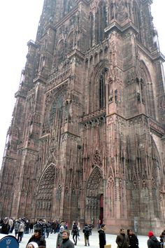 Video of the Strasbourg Roman Catholic Cathedral in Strasbourg France http://www.eddiewalter.de