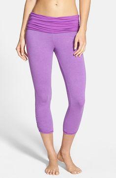 7c3bbe727d48d6 Omgirl 'Ahimsa' Capri Leggings available at #Nordstrom Yoga Wear, Capri  Leggings,