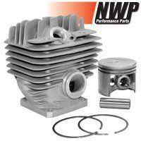 Big Bore Cylinder Assembly (52mm) for Stihl 044/MS 440 by NWP. $97.49. Complete top end for your chainsaw. This is a big bore kit which comes with an oversized cylinder and piston, which will give your chainsaw increased displacement. Cylinder assembly includes a piston, rings, piston pin, circlips and cylinder. Gaskets are sold separately. This cylinder assembly is NiSi coated for long life. The piston is Moly coated and comes with ductile iron piston rings. We recomm...