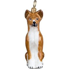 Basenji Polish Glass Christmas Ornament Dog Tree Decoration Made in Poland *** Check this awesome product by going to the link at the image.