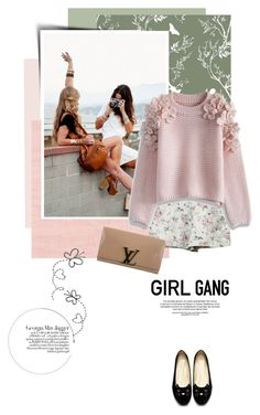 """""""Galentine's Day"""" by pippi-loves-music ❤ liked on Polyvore featuring Timorous Beasties, Off-White, Chicwish, Louis Vuitton, Jagger, women's clothing, women, female, woman and misses"""