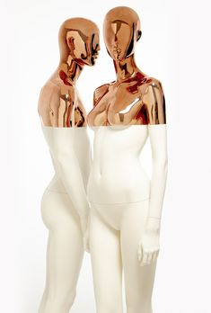 WHITE COPPER by Hans Boodt Mannequins