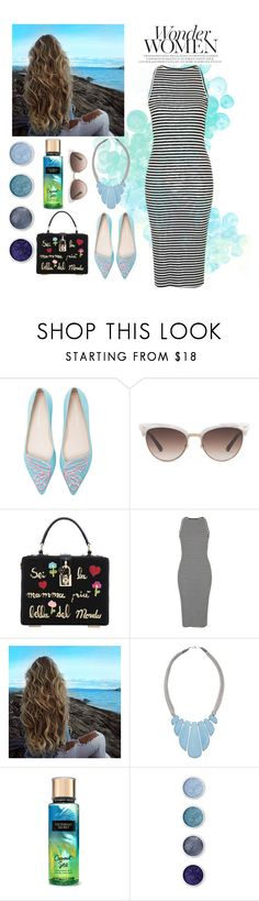 """Без названия #246"" by jujik85 ❤ liked on Polyvore featuring Sophia Webster, Gucci, Dolce&Gabbana, Topshop, John Lewis and Terre Mère"