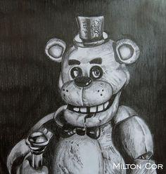 Algunos Dibujos de Five Nights At Freddy's
