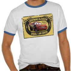 Lightning McQueen - Speed. I Am Speed Disney Tees