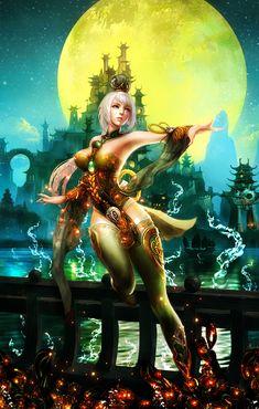 Princess-at-night by BriGht-liGht-NSH.deviantart.com on @DeviantArt