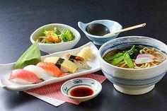 寿司うどんランチ
