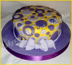 TORTA DECORADA RETRO | TORTAS CAKES BY MONICA FRACCHIA