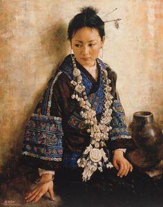 """""""Jeannie"""" — Jie Wei Zhou"""