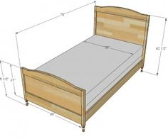 how to build twin bed woodworking plans pdf woodworking plans twin bed woodworking plans free plans to build a wood bed inspired by pottery barn kids emmett