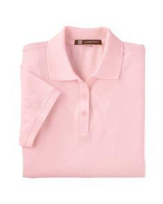 Harriton Womens Blend-Tek Short Sleeve Polo Shirt M280W