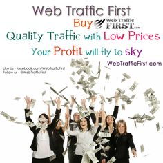 Your website needs visitors to make sales and profit..... Quality visitors with Low Prices.