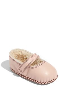 UGG® Australia 'Honey' Mary Jane (Baby & Walker) available at #Nordstrom