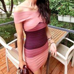 Casey #Sexy #Bandage #Dress- Pink