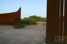 US border fence, Brownsville Texas