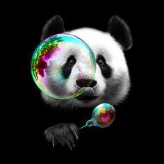 Panda Cute poster prints by Adam Lawless Animals And Pets, Baby Animals, Cute Animals, Image Panda, Cute Panda Wallpaper, Panda Wallpapers, Panda Love, Panda Panda, Kawaii