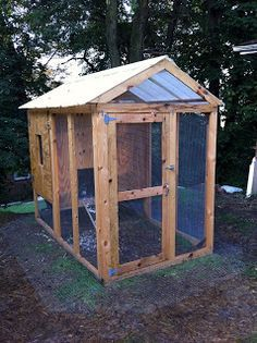 A life in the day of...: Free Insulated Chicken Coop Plans