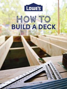 Learn how to create deck designs and how to build a deck through these manageable steps. We'll also give you ideas for furnishing and decorating your new deck.