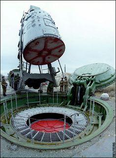 Russian missile silo.