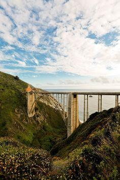 Bixby Bridge Big Sur California - Highway 1 Road Trip // localadventurer.com