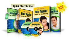 top Hair Loss And Regrow It After Reading Hair Again You Will Be Able To Re-Grow Your Hair In A Natural Way.