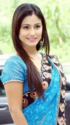 Hina Khan in Saree