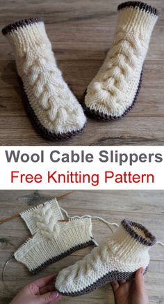Amazing Knitting provides a directory of free knitting patterns, tips, and tricks for knitters. Bonnet Crochet, Crochet Socks, Knit Crochet, Knit Slippers Free Pattern, Baby Booties Free Pattern, Knitting Patterns Free, Knit Patterns, Free Knitting, Fingerless Gloves Knitted