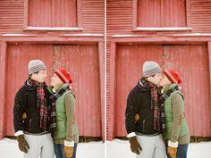 engagement photos vermont snow - Google Search