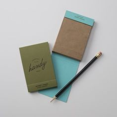 Handy Notepad // By Stich for Schoolhouse Electric
