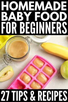 How to Make Homemade Baby Food Introducing solids can be exciting for kids but stressful for mom am I right Whether youre just starting with stage 1 baby foods or in sea. Baby Puree Recipes, Pureed Food Recipes, Healthy Recipes, Healthy Food, Shrimp Recipes, Fall Recipes, Snack Recipes, Cooking Recipes, Baby Food Recipes Stage 1