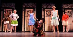 """That Famous Polish Lighting Designer: """"Thoroughly Modern Millie . Rain Costume, Stage Design, Set Design, Design Ideas, Broadway Costumes, Theatre Shows, Theatre Makeup, Guys And Dolls, Singing In The Rain"""