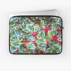 Holly barries background. Traditional symbol of Christmas and New Year season. by Paolo Modena Photography - Fine Italian Art | Redbubble