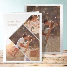 Hochzeit Fotobuch Himmelwärts Design