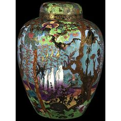 Ghostly Wood by Wedgwood's Fairyland Lustre