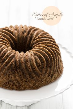 Spiced Apple Bundt Cake Recipe (sugar & snapshots)