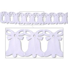 Beistle 55261-W Westminster Bell Garland, 8-Inch by 12-Feet >>> You can get more details at