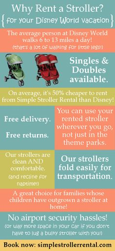 Advice on Why to Rent a Stroller? (for your Disney vacation)   And Click thru for info about Military Discounts On Disney World Stroller Rentals