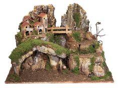 Christmas Village Houses, Christmas Nativity Scene, Diy Christmas Ornaments, Nativity Stable, Paper Doll House, Diorama, Amazing Art, Garden Design, Holiday Decor