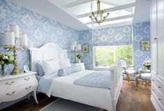 Blue Color In The Interior | Architect Lover