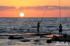 Sunset at Tyre  الغروب في صور  By Jack Sakabedoyan